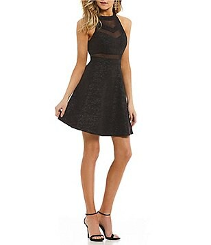 Dillards long black dress women
