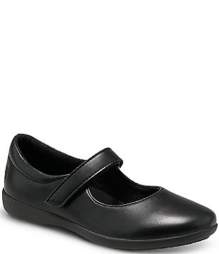 Youth Girl/'s Hush Puppies Lexi Uniform Mary Jane Shoes Black