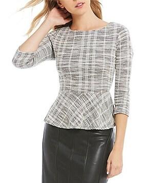 peplum: Women's Casual & Dressy Tops & Blouses | Dillards.com