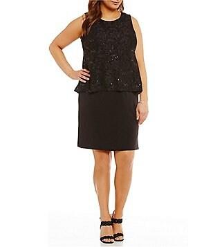 Plus-Size Little Black Dresses | Dillards