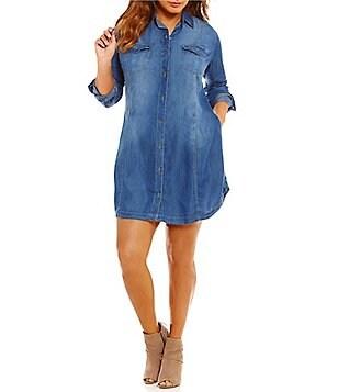 Jessica Simpson Plus-Size Daytime & Casual Dresses   Dillards
