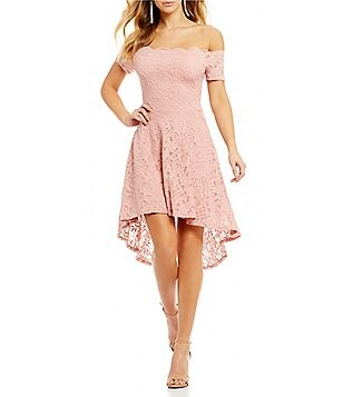 Jodi Kristopher Pink Juniors' Dresses | Dillards