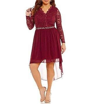 juniors' plus-size dresses | dillards