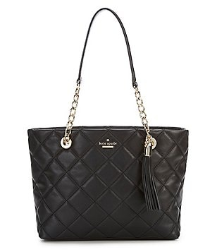 Kate spade new york handbags purses wallets dillards kate spade new york emerson place small priya tasseled quilted tote junglespirit Gallery