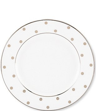 kate spade new york larabee road platinum china 6double bread and butter plate