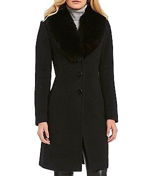 Women's Fur & Faux-Fur Coats | Dillards