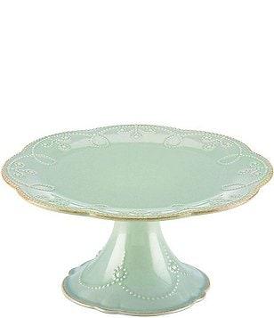 Lenox French Perle Scalloped Stoneware Pedestal Cake Plate  sc 1 st  Dillardu0027s & Cake Plates Stands u0026 Domes | Dillards