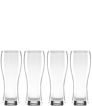 Lenox Tuscany Classics 4 Piece Crystal Wheat Beer Glass Set