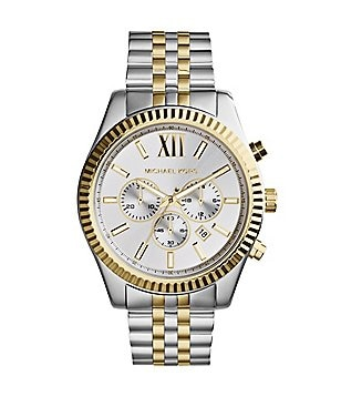 2758f02ab46f Michael Kors Men  s Lexington Two-Tone Stainless Steel Chronograph Bracelet  Watch