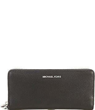 Michael Kors Womens Pouch On Sale, Silver, Leather, 2017, one size