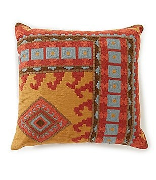 noble excellence global bazaar collection oversized square pillow