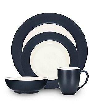 Noritake Colorwave Rim Matte \u0026 Glossy Stoneware 4-Piece Place Setting  sc 1 st  Dillard\u0027s & Noritake Casual Everyday Dinnerware: Plates  Dishes \u0026 Sets | Dillards