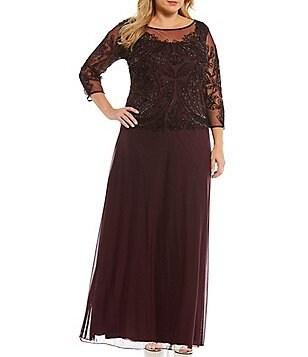 Sale & Clearance Plus-Size Formal Dresses & Gowns | Dillards