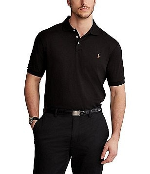 Polo Ralph Lauren Big \u0026 Tall Classic-Fit Cotton Soft Solid Short-Sleeve Polo