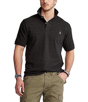 Polo Ralph Lauren Big \u0026 Tall Classic-Fit Short-Sleeved Cotton Mesh Polo  Shirt