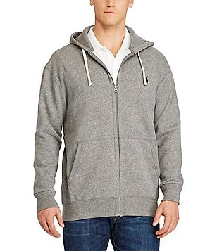 Polo Ralph Lauren Big \u0026 Tall Classic Fleece Full-Zip Hoodie