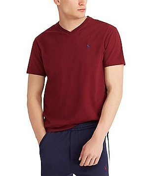 b339513d5184d ireland polo ralph lauren classic fit short sleeved cotton jersey v neck  tee c5d6c 1c7d4