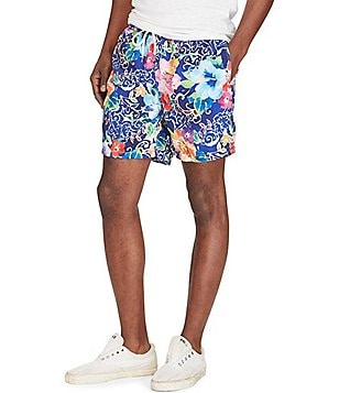 Polo Ralph Lauren Traveler Water Floral Swim Trunks