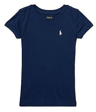 Ralph Lauren Childrenswear Big Girls 7-16 Pima Cotton-Blend Jersey Tee