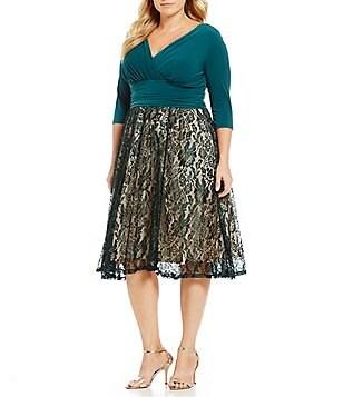 Plus-Size Cocktail & Party Dresses   Dillards
