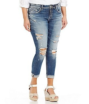 silver jeans co. plus-size jeans & denim | dillards
