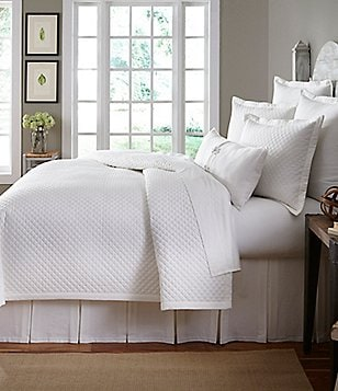 Beautiful Southern Living Heirloom Quilted Cotton Piqué Coverlet