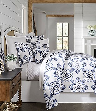 southern living newcastle floral medallion comforter mini set