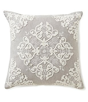 southern living linen square pillow