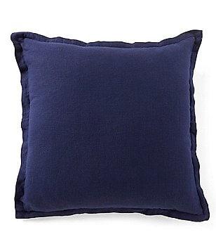 Southern Living Velvet Linen Oversized Square Pillow