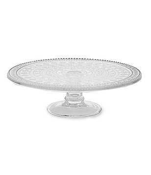 Southern Living Vintage Eyelet Cake Plate  sc 1 st  Dillardu0027s : white cake plate stand - pezcame.com