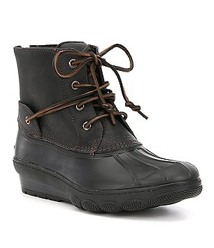 Sperry Women's Saltwater Wedge Tide Cold Weather Duck Boots