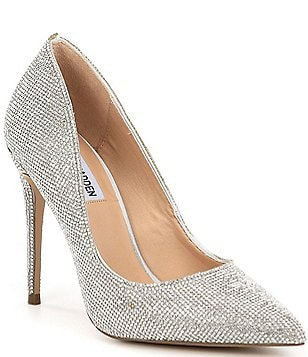 Daisie Crystal Jeweled Pumps