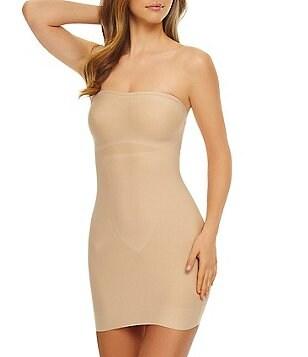 Bridal wedding lingerie dillards tc fine shapewear just enough strapless slip junglespirit Gallery