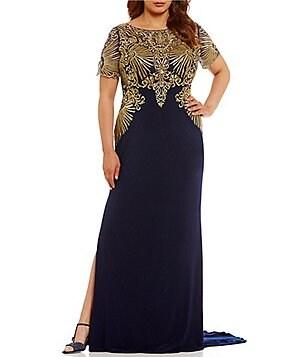 Dillards dresses formal plus size