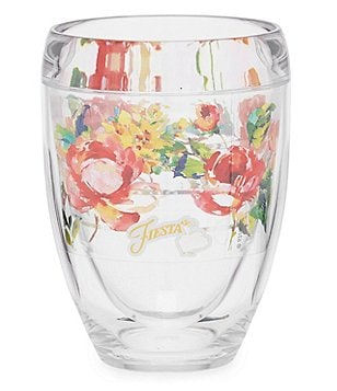 tervis tumblers fiesta rose stemless wine glass - Tervis Tumblers