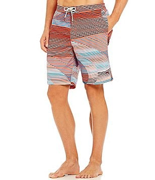 Tommy Bahama Baja Boardwalk Wave Vintage Micro Twill Cargo Swim Trunks
