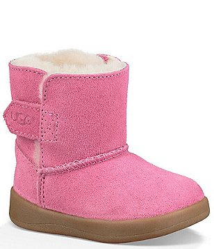 girls pink ugg style boots