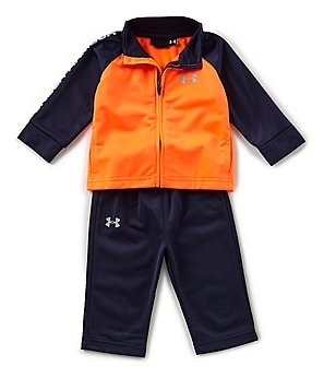 under armour baby boys newborn24 months legend track jacket u0026 pant set