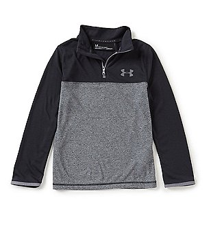 under armour jackets boys. under armour big boys 8-20 threadborne 1/4-zip pullover jackets /