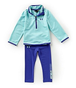 under armour sweatshirts for kids girls. under armour little girls 2t-6x teamster track jacket \u0026 leggings set sweatshirts for kids b