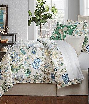 Villa By Noble Excellence Olivia Floral Cotton U0026 Linen Comforter Mini Set