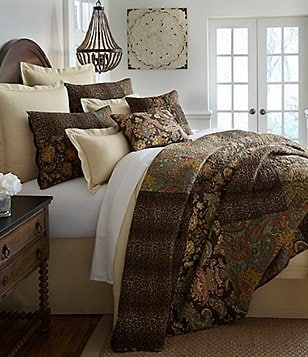 Superb Villa By Noble Excellence Tara Patchwork Quilt Mini Set