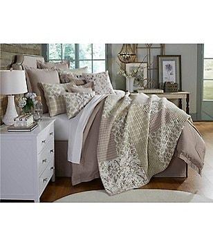 Villa By Noble Excellence Tavares Floral U0026 Striped Patchwork Quilt Mini Set