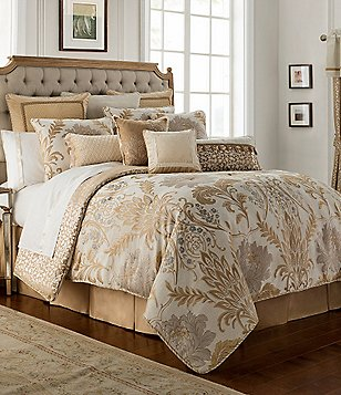 waterford ansonia floral jacquard comforter set