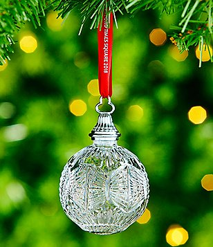 waterford crystal 2018 times square ball ornament - Christmas Tree Accessories