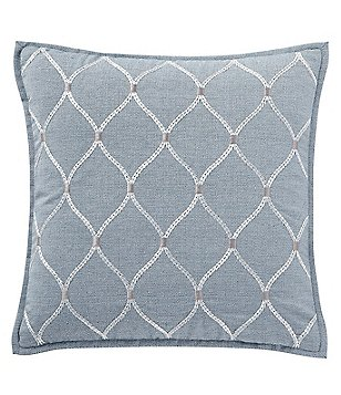 Exceptionnel Waterford Florence Oggi Embroidered Square Pillow