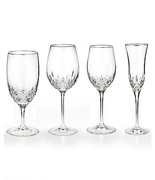 waterford lismore essence crystal stemware - Waterford Crystal Wine Glasses