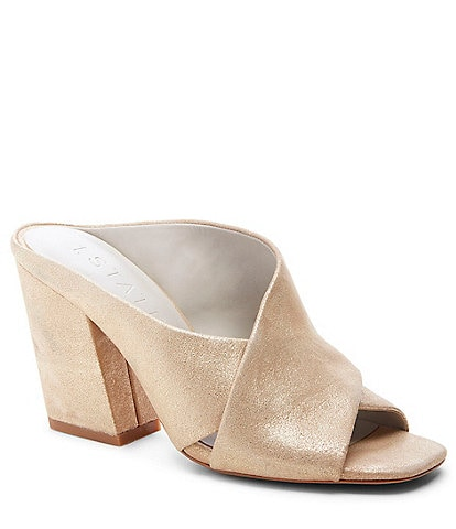 1. STATE Graible X Band Heel Mules