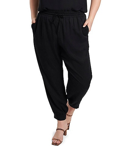 1. STATE Plus Size Pull-On Jogger Pants