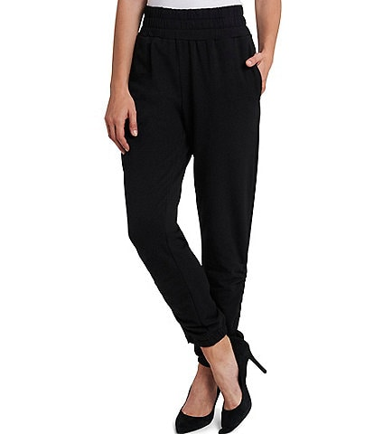 1. STATE Ruched Side Seam Pull-On Jogger Pants